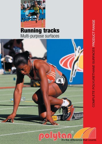 Running tracks (engl.) S.1 - Polytan Sports Surfaces