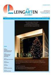 Alters- und Ehejubilare - Gemeinde Leingarten