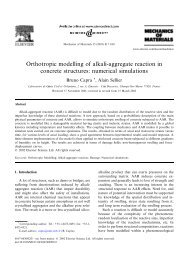 Orthotropic modelling of alkali-aggregate reaction in concrete ...