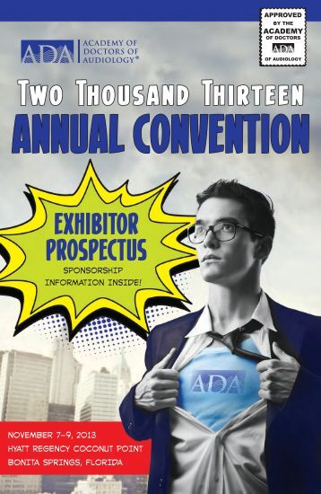 Download the Exhibitor & Sponsor Prospectus - Academy of Doctors ...