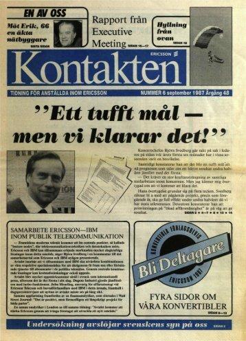 halvarsbokslut 1987 - ericssonhistory.com