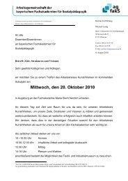 Einladung Fortbildung 20.10.2010 - Arbeitsgemeinschaft ...