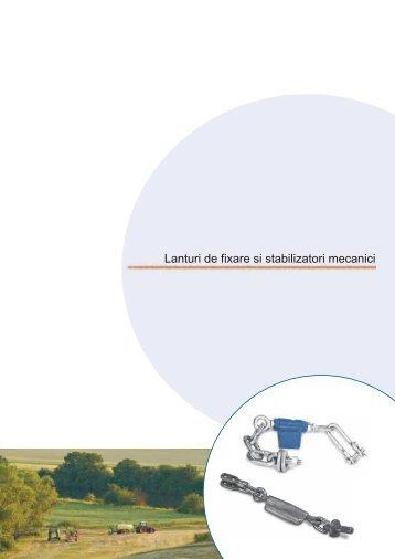 Lanturi de fixare si stabilizatori mecanici - Ama RO