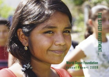 Annual Report 2.indd - World Scout Foundation