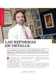 Las reformas en detalle. Revista Ekos. Edición 213 ... - Ekos Negocios