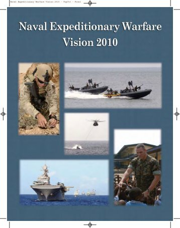 Naval Expeditionary Warfare Vision 2010 Publication - U.S. Navy