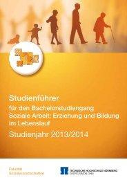 Studienführer für den Bachelorstudiengang EBL, Studienjahr 2013/14