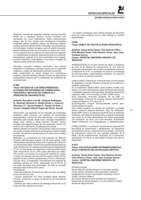 xcv reunión científica de la sociedad de pediatría de andalucía ...