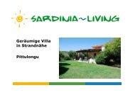 Geräumige Villa in Strandnähe Pittulongu - Sardinia Living
