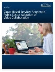 Cloud-Based Services Accelerate Public Sector ... - Navigator