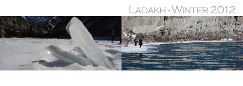 Ladakh Roadbook Winter
