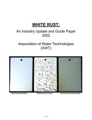 White Rust Info - HydroServe Technologies, Inc.