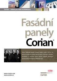 Corian® - řešení pro Vaši architekturu