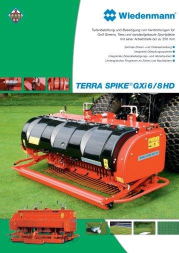 TERRA SPIKE® GXi 6 / 8 HD - Wiedenmann GmbH