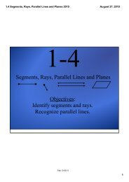 1.4 Segments, Rays, Parallel Lines and Planes 2010.pdf