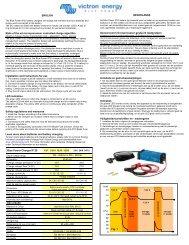 De IVO Smart 12/10 en de IVO Smart 24/06 zijn ... - Solar-Bazaar