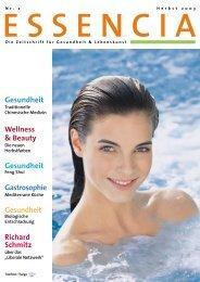 Die Zeitschrift für Gesundheit & Lebenskunst - Greta Hessel