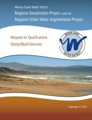 Regional Desalination Project under the Regional Urban Water ...
