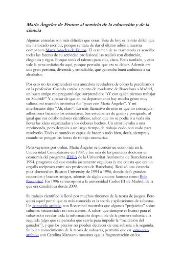 rafael repullo: mas sabio que el rey salomon - Universidad Carlos III ...