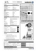 Datasheets DWP62 series 50 c/s - Landustrie - Page 5