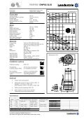 Datasheets DWP62 series 50 c/s - Landustrie - Page 6