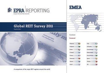 Global REIT Survey 2011 - EPRA
