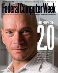 also in this issue:feds git rockin' p. 16 fcw forum: do ... - 1105 Media