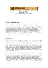 Sortie de prison - Cerbere.org