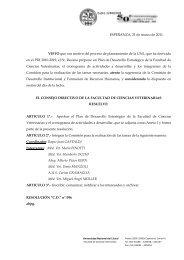Plan de Desarrollo Estratégico FCV - Facultad de Ciencias ...