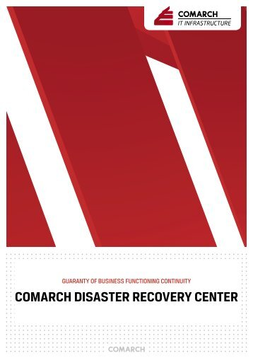 ComarCh Disaster reCovery Center