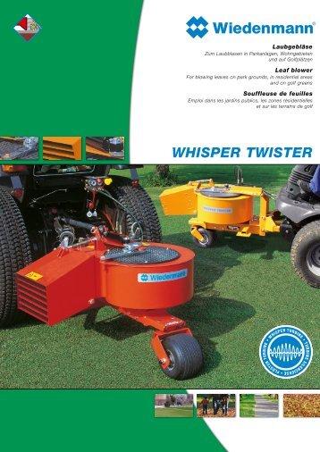 WHISPER TWISTER - Wiedenmann GmbH