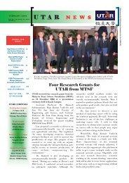 UTAR News February 2009.indd