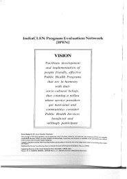 Coverage Evaluation 2000 - The INCLEN Trust