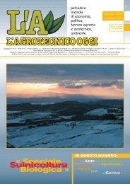 L'Agrotecnico Oggi gennaio 05 - Collegio Nazionale degli Agrotecnici