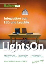 Integration von LED und Leuchte - Bailey
