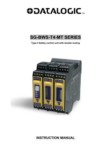 SG-BWS-T4-MT SERIES - Datasensor