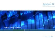 Guide to Foreign Exchange - Business Banking - Bank of Ireland