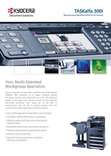 TASKalfa 300i 6page No Noise.pdf - KYOCERA Document Solutions