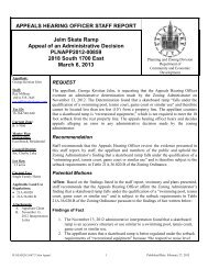 APPEALS HEARING OFFICER STAFF REPORT Jelm Skate Ramp ...