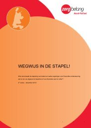 brochure 'Wegwijs in de Stapel' - Sien