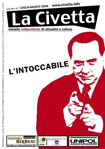 L'INTOCCABILE - La Civetta