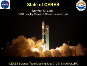 State of CERES - NASA