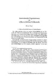 völkerrechtlichen Deliktsrecht - Zeitschrift für ausländisches ...