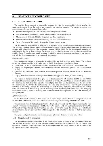 6. SPACECRAFT COMPOSITE - ESA