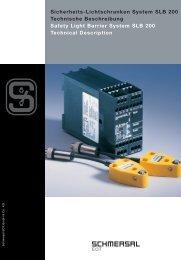 Sicherheits-Lichtschranken System SLB 200 - KASBASE