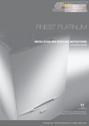Halstead-Finest-Platinum-installation-manual - Heatingspares247.com