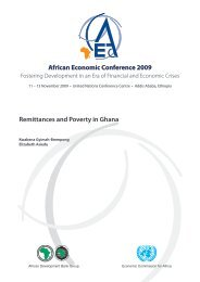 Remittances and Poverty in Ghana - United Nations Economic ...