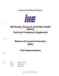 RPE - IHE