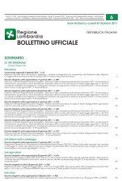 bollettino ufficiale - Agenzia Regionale Centrale Acquisti - Regione ...