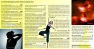 Kursbeschreibungen Summer Dance Academy 2013 - STB ...